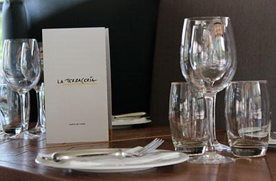 la terracería, un lugar para comer y cenar